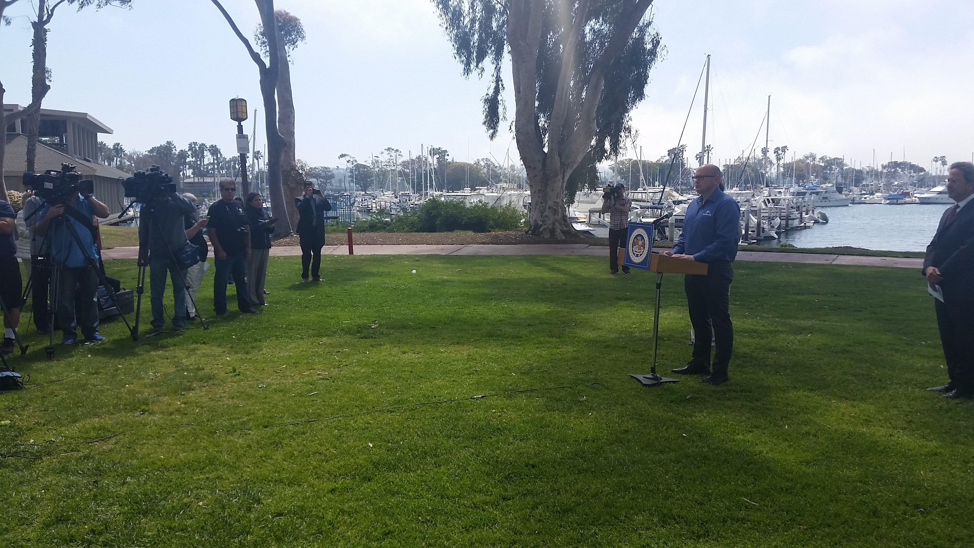 John T. Reilly, SeaWorld San Diego President