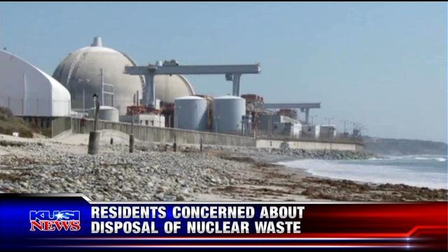 Residents concerned about disposal of San Onofre nuclear waste