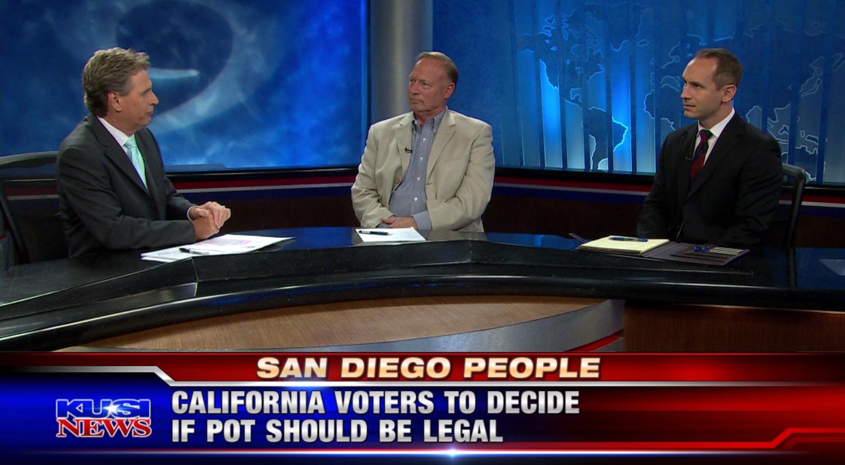 San Diego People: Legalizing Marijuana