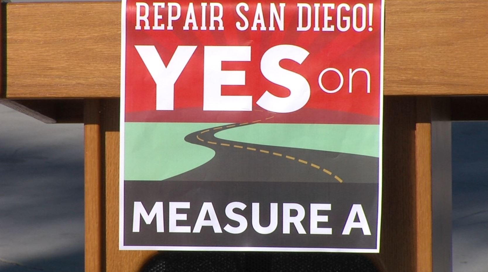 City leaders campaign for passage of Measure A