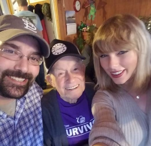 Robert Frye, Cyrus Porter and Taylor Swift (Twitter)