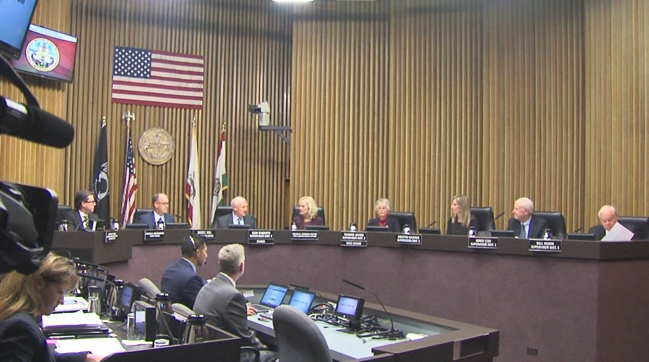 The San Diego County Board of Supervisors