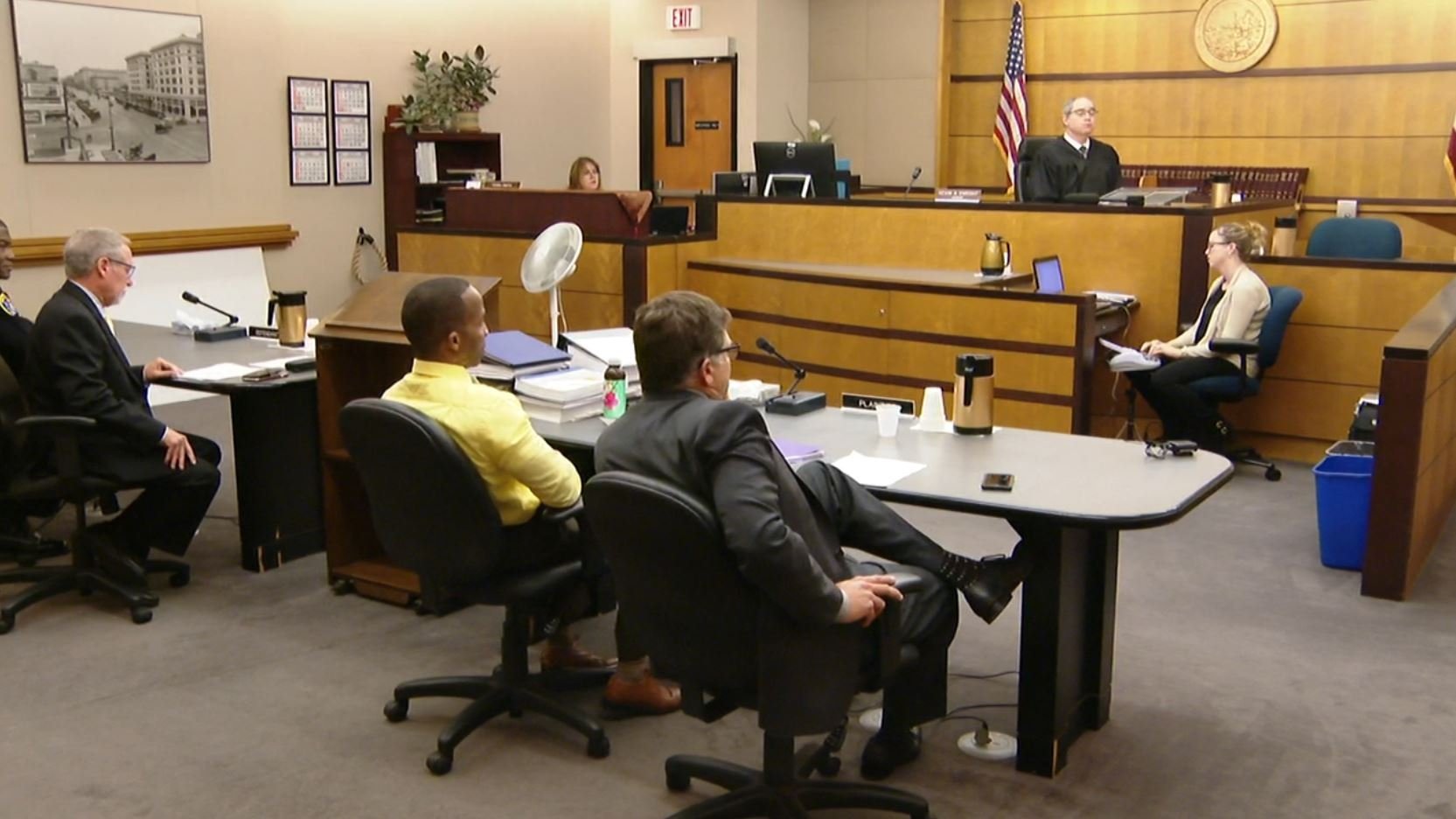 Sgt. was not retaliated against for reporting racist cartoon, jury finds