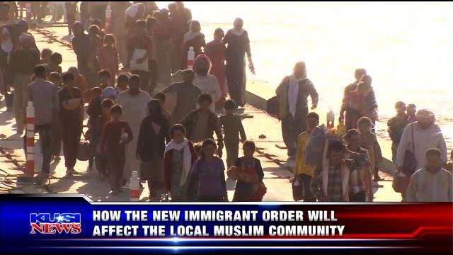 How the new immigrant order will affect the local Muslim community