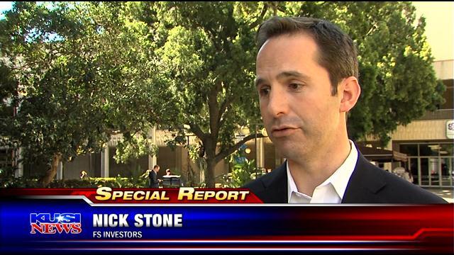 Nick Stone of FS Investors