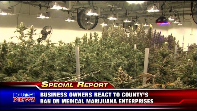 Business owners react to county's ban on medical marijuana enterprises