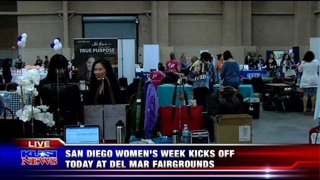 San Diego Women's Week kicks off at Del Mar Fairgrounds