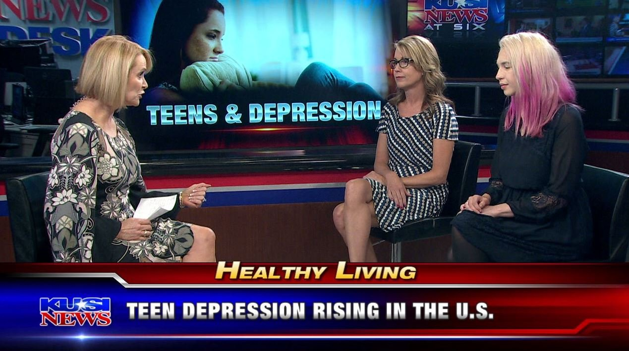 Healthy Living: Teen depression rising in the U.S.