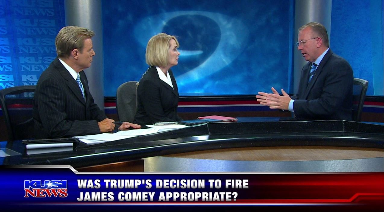 Was Trump's decision to fire James Comey appropriate?