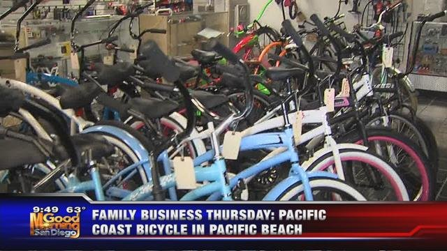 Pacific Coast Bicycle in Pacific Beach