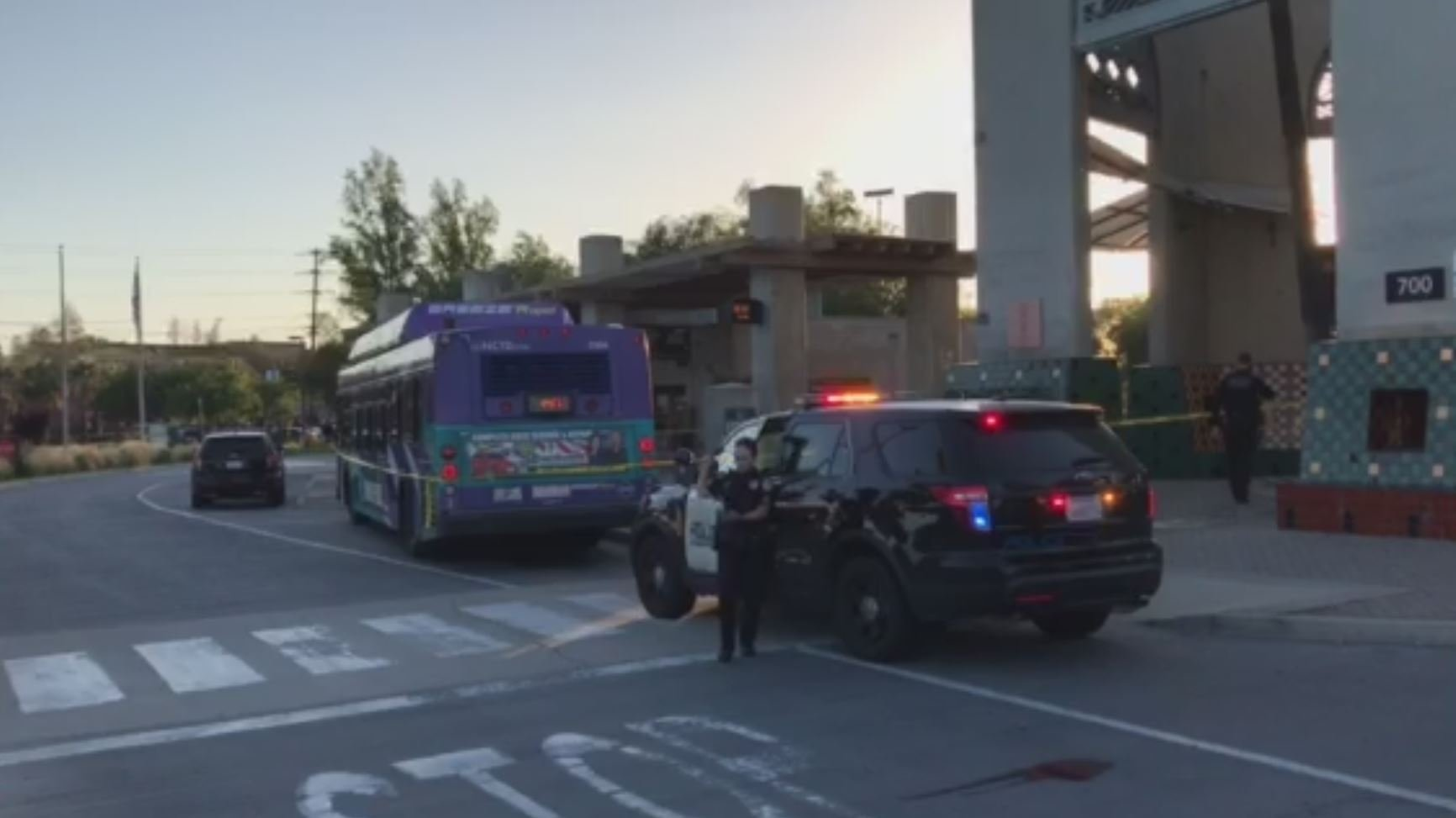 Man hospitalized after shots fired at bus near Escondido Transit Center
