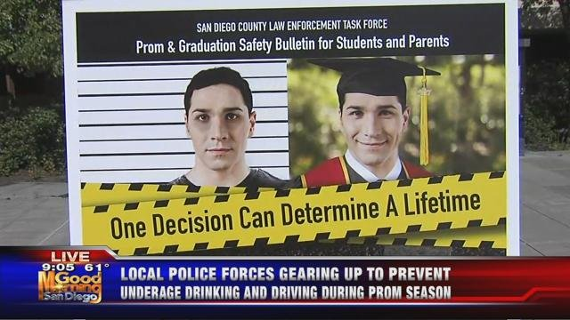 Local police forces gearing up to prevent underage drinking and driving during prom season