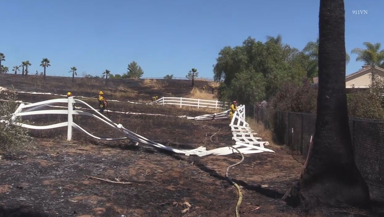 Crews still battling large fire near Wharton State Forest