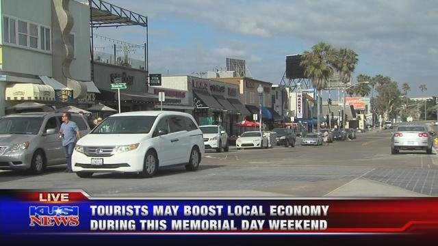 Tourists may boost local economy during this Memorial Day weekend