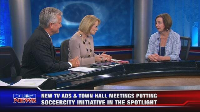 New TV ads & town hall meetings putting SoccerCity Initiative in the spotlight