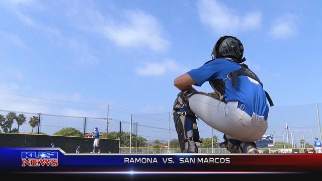 May 30, 2017 Baseball:  Ramona 7, San Marcos 10