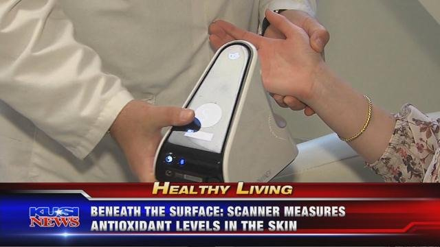 Beneath the Surface: Scanner measures antioxidants levels in the skin
