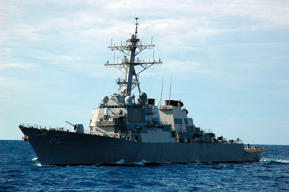 7 reported missing after US Navy destroyer collides with Japanese merchant ship