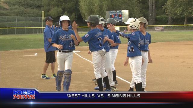 June 23, 2017 Little League: West Hills 7, Singing Hills 8