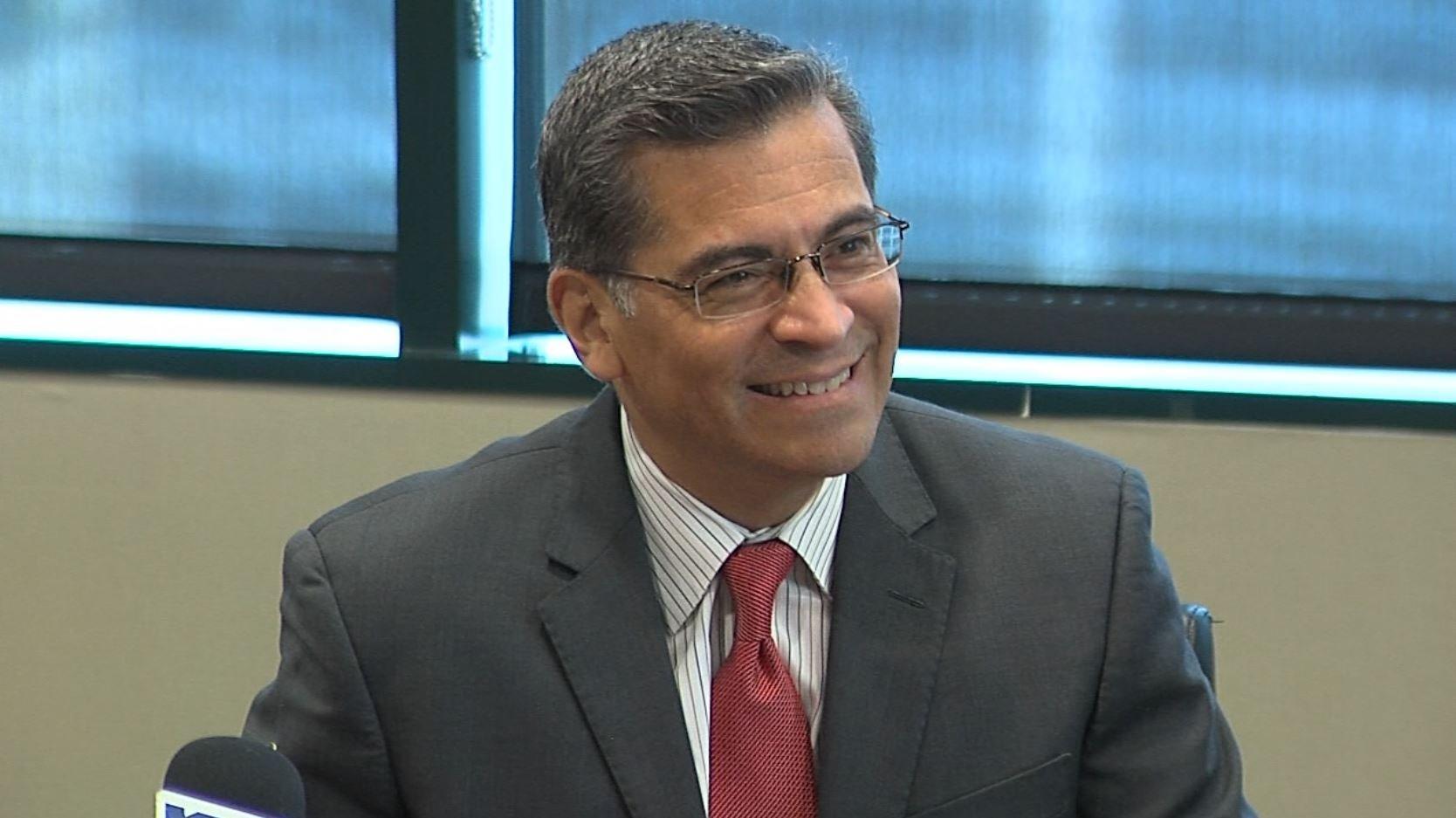 California Attorney General Xavier Bacerra