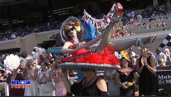 Del Mar Opening Day Hat Competition