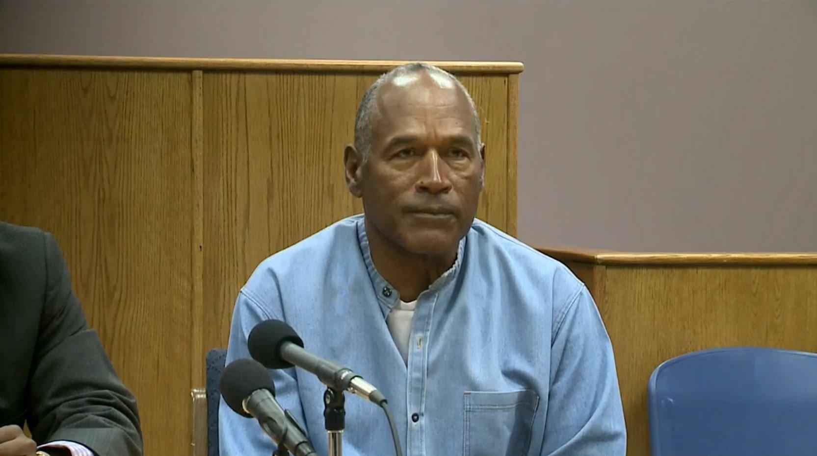 OJ Simpson granted parole in Las Vegas robbery case