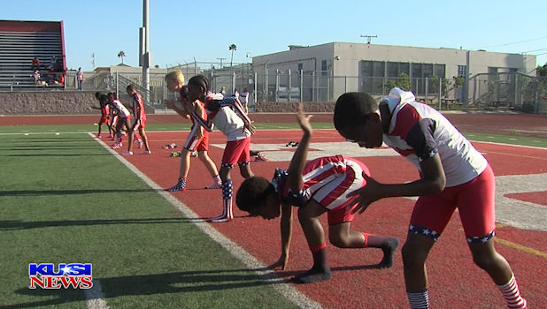 USA Rockets prep for the Junior Olympics