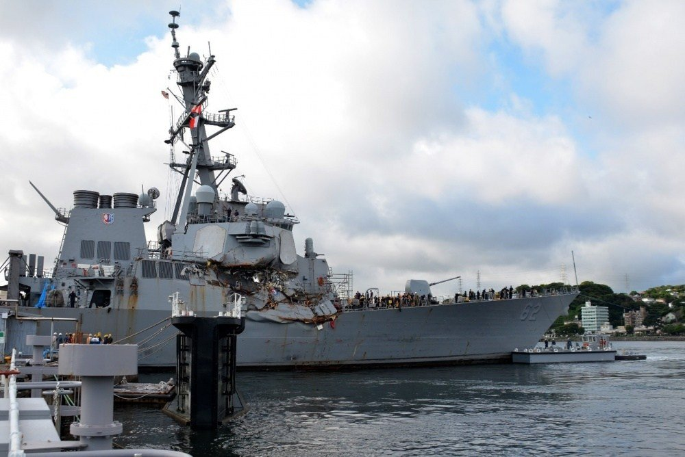 Investigation Reveals Navy At Fault For Massive USS Fitzgerald Collision