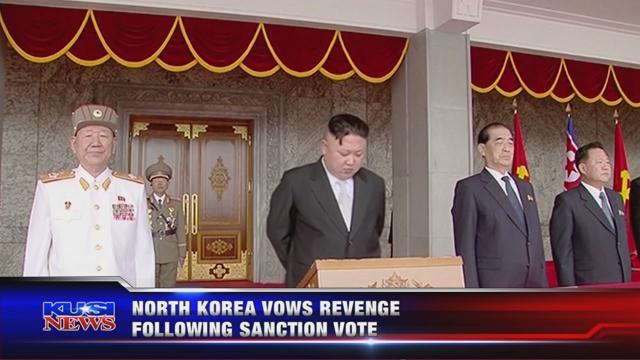 North Korea vows revenge against US following sanction vote