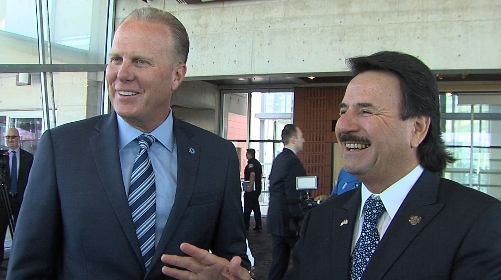 Mayor Kevin Faulconer and Tijuana Mayor Juan Manuel Gastelum