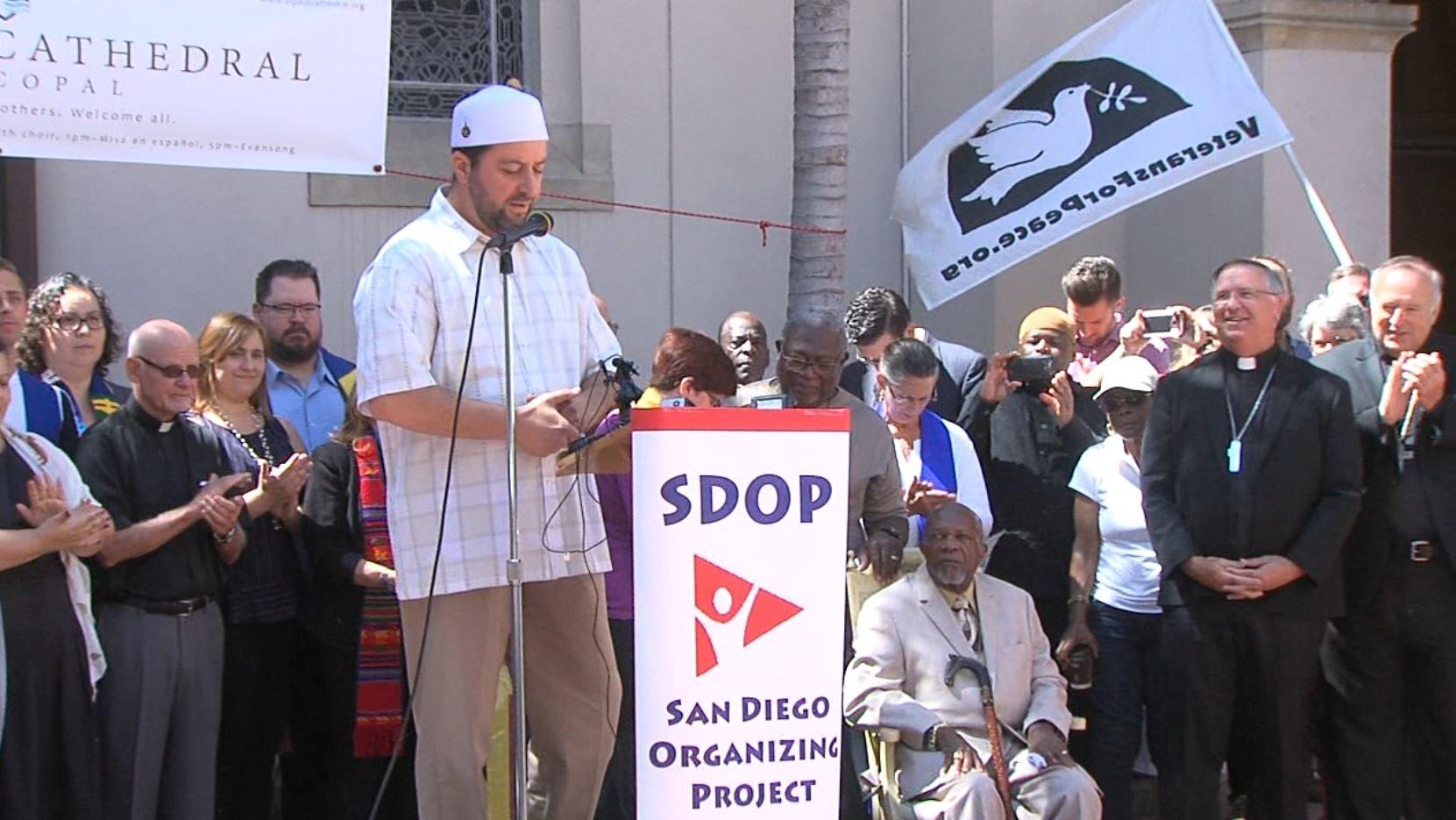 San Diego faith leaders denounce white supremacist groups