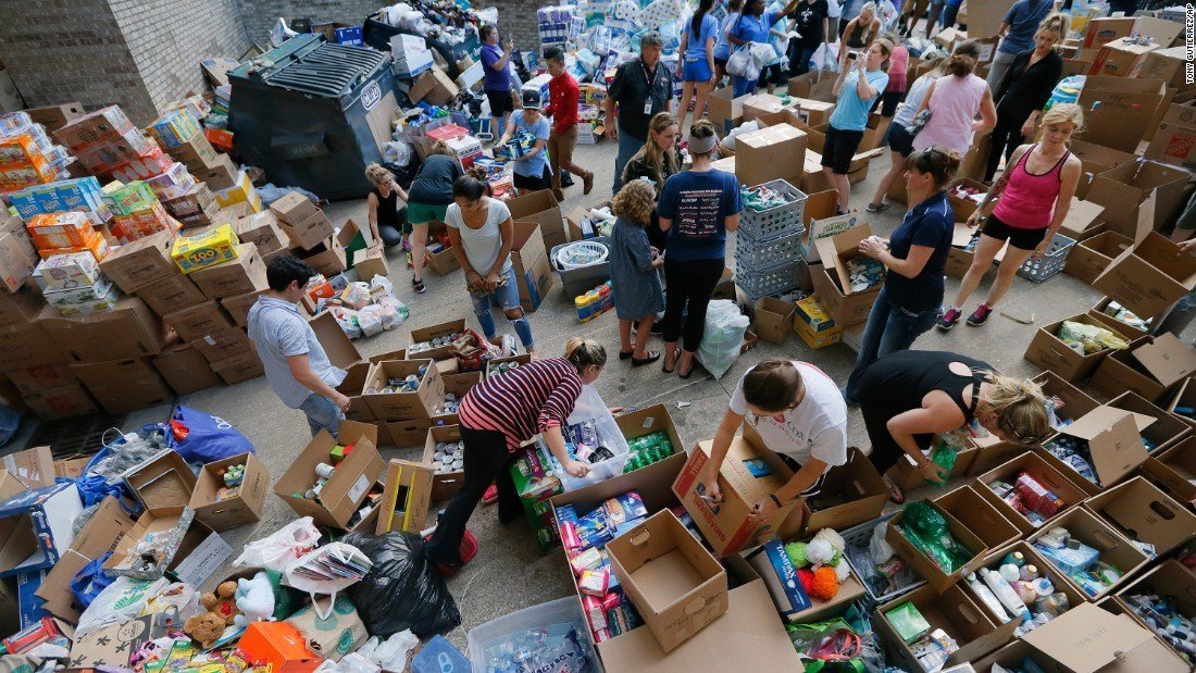 Commerce lending a helping hand to victims of Hurricane Harvey