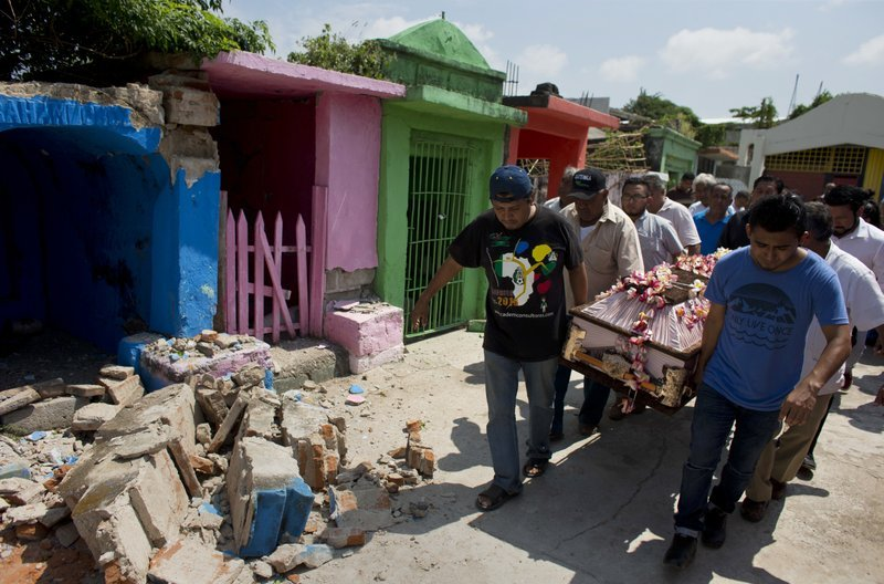 More fatal casualties in Mexico as shattered country faces Katia