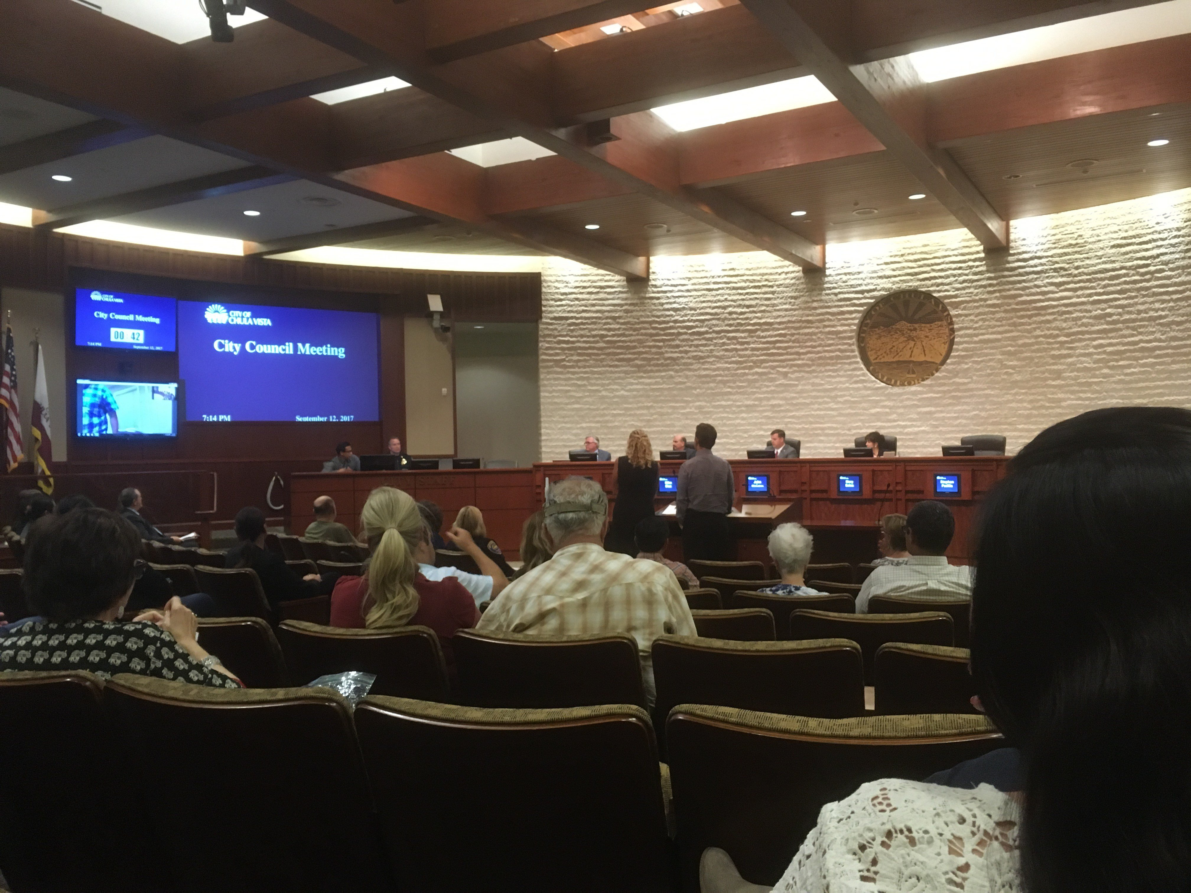 Chula Vista City Council on CA Values Act
