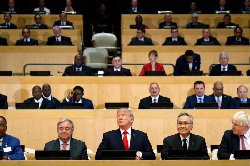 Trump advocates reforming a United Nations