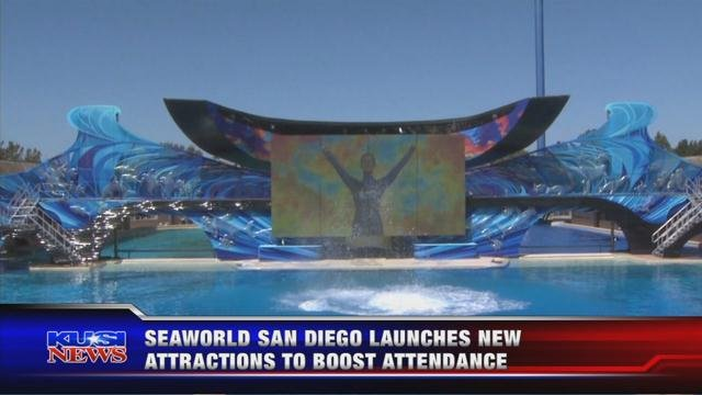 SeaWorld in San Diego unveils new attractions for 2018