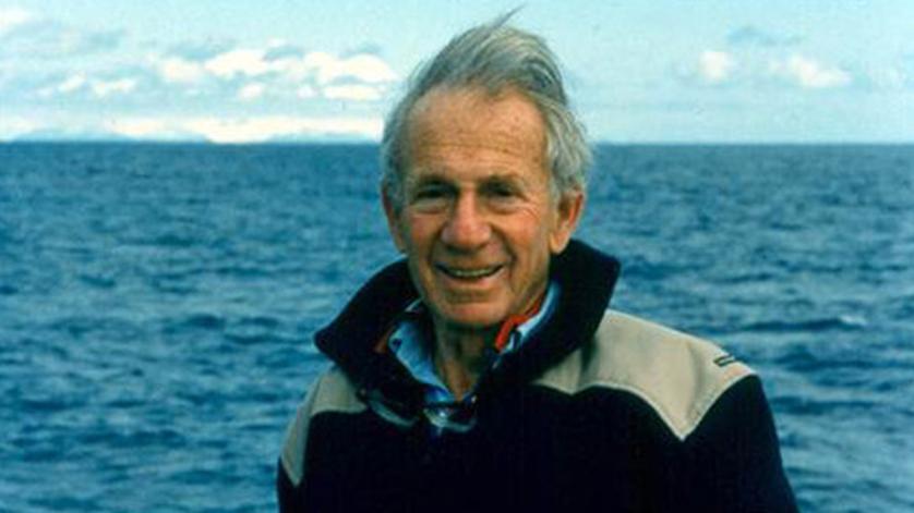 Famed Oceanographer Walter Munk