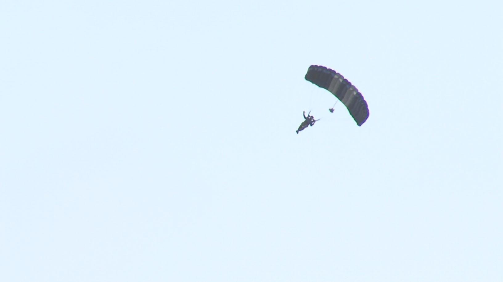Man skydiving in Jamul injured in 'hard landing'