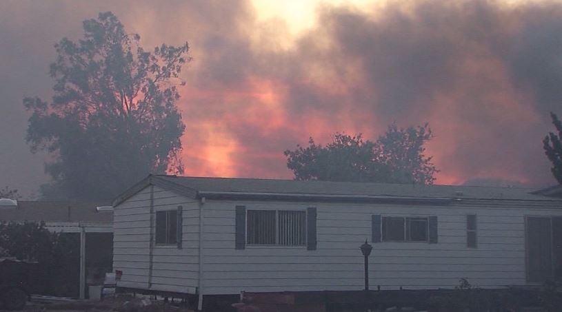 Latest On Wildfire Near San Diego, California