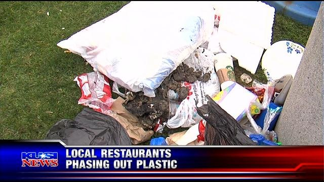 restaurants phasing out plastic