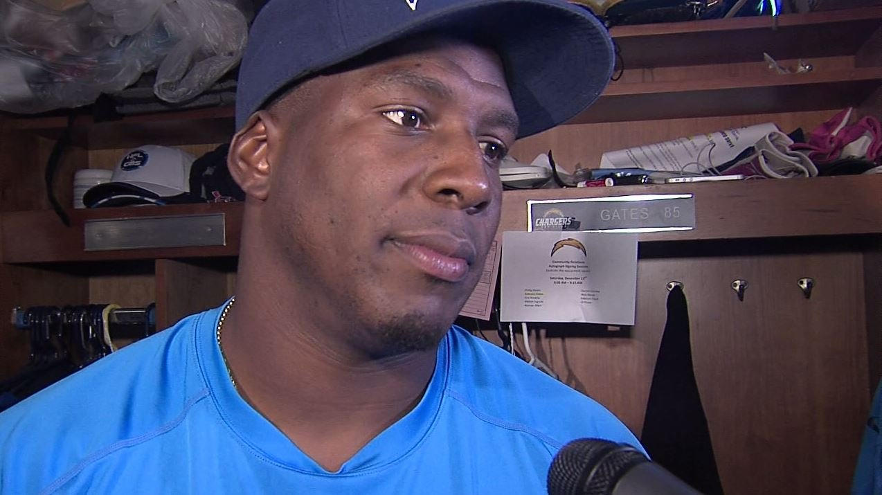 San Diego Chargers TE Antonio Gates suspended for violating NFL PED policy