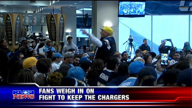 Charger fans speak out