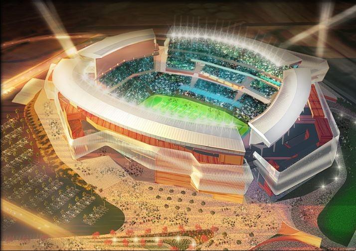 Mission Valley stadium rendering