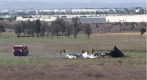 Authorities identify co-pilot killed in midair collision in Otay Mesa
