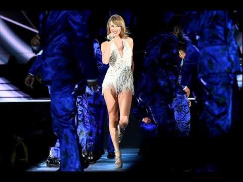 Taylor Swift performing at Petco Park