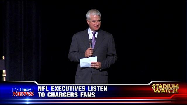 NFL executives listen to Chargers fans