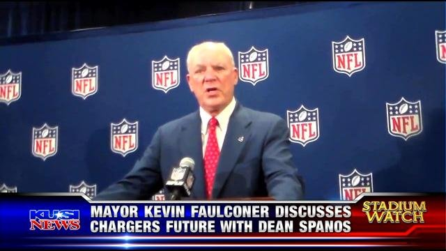 Stadium Watch: Mayor Kevin Faulconer discusses Chargers future with Dean Spanos