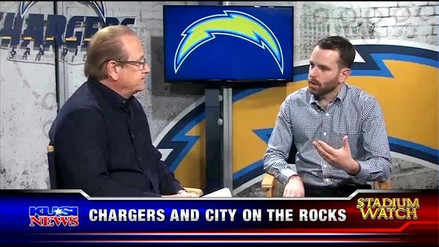 Stadium Watch: Chargers and city on the rocks