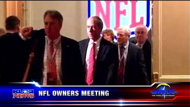 Chargers countdown: NFL owners meeting