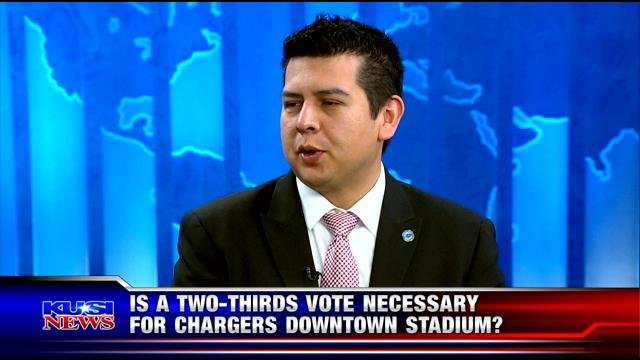 Is a two-thirds vote necessary for Chargers downtown site